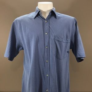 O'Neill Short Sleeve Button Down Size Medium